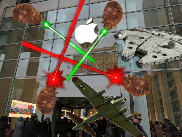 Report: 5th Avenue Apple Store Has Had Bedbugs For Weeks