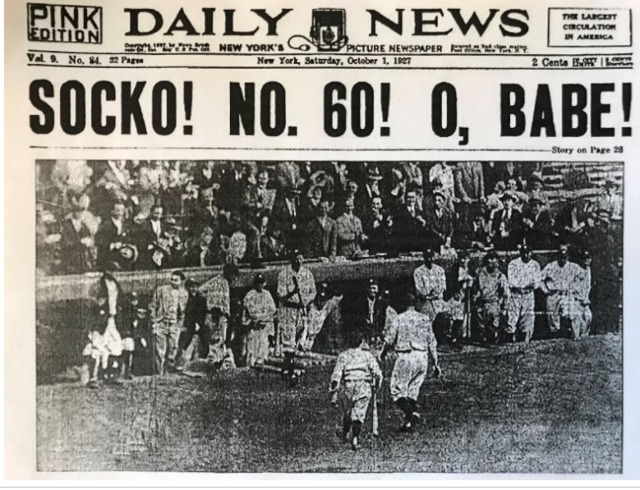 Tabloid Sports, Socko Voice Of New York City Beginning With Bambino, Shows Signs Of Decline