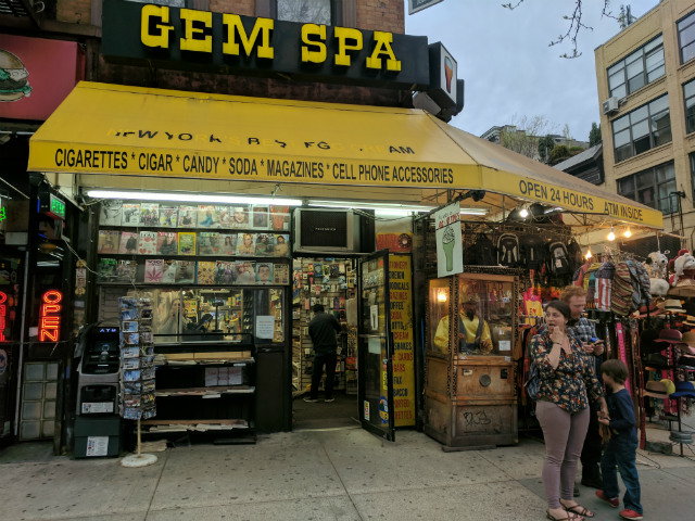 Can Instagram & Colorful New Egg Cream Flavors Keep Gem Spa Afloat?