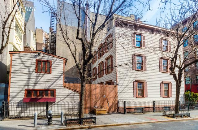 Historic Wood-Frame West Village House (Possibly With Secret Tunnel) On The Market For $12 Million
