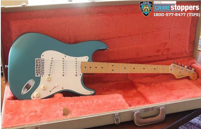 Someone Stole A $2,300 Fender Stratocaster Left Unattended On Brooklyn Sidewalk