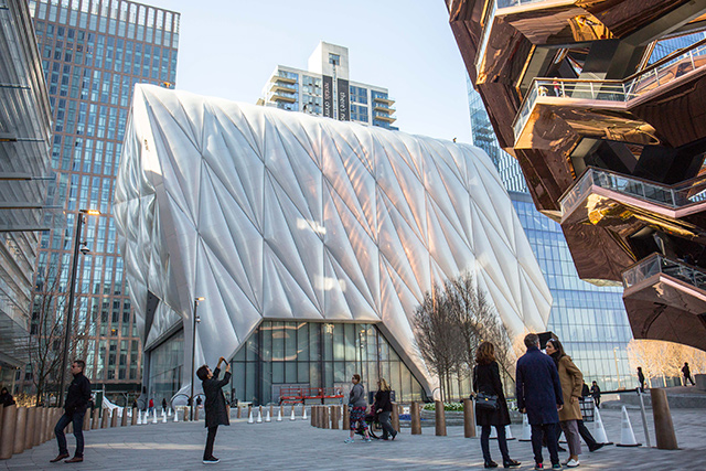Photos: Inside The Shed, The Huge New Cultural Center At Hudson Yards - Gothamist