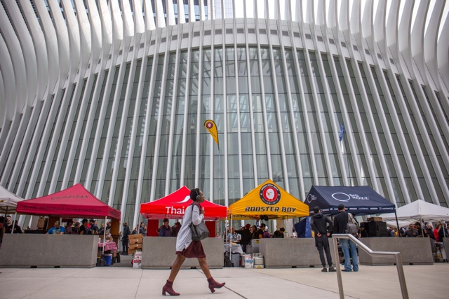 Photos: Smorgasburg WTC Opens Under The Oculus's Giant Wing
