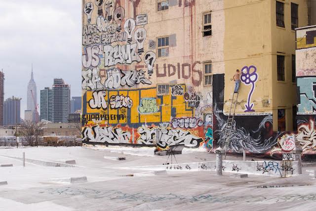 The Flower Guy Looks Back On 25 Years Of New York Graffiti
