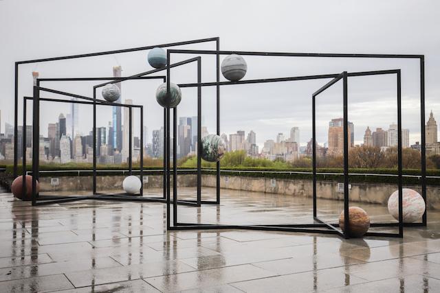 Photos: This Year's Met Rooftop Features Alicja Kwade's Stellar 'ParaPivot' Installations