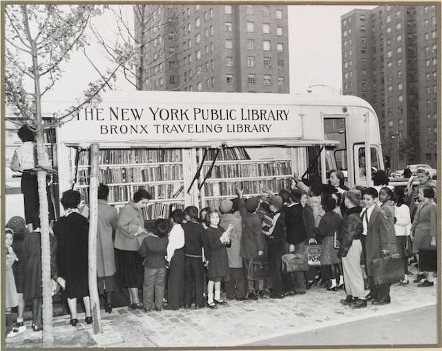 NYPL To Deploy A New Fleet Of Bookmobiles For First Time Since The '80s