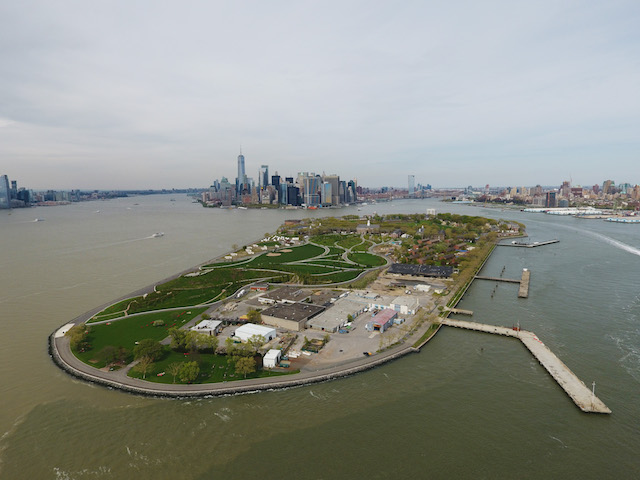 We Flew A Drone Over Governors Island