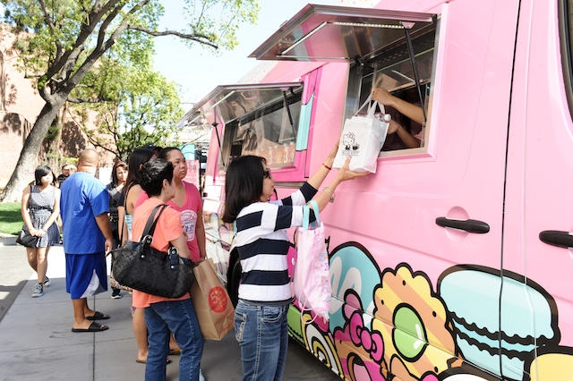 The Hello Kitty Cafe Truck Will Set Up Shop In Flushing Saturday