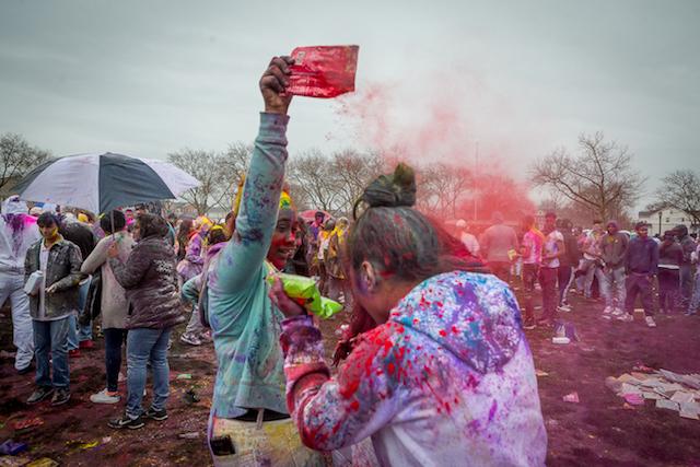 Photos: Phagwah Celebration Goes On Despite Literal Rain On Parade