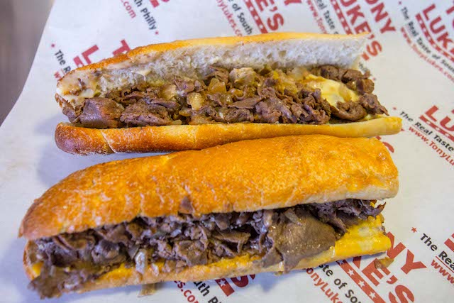 Philly Import Tony Luke's Now Griddling Up Cheesesteaks In Downtown Brooklyn