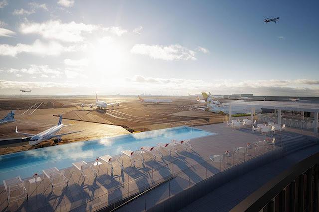 TWA Hotel Is Bringing An Infinity Pool To JFK Airport