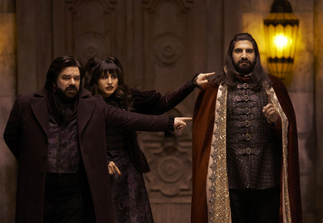 'What We Do In The Shadows' Brought A Star-Studded Summit Of Vampires To Staten Island