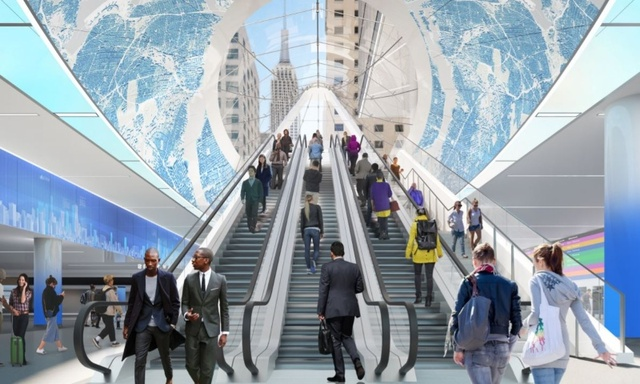 Renderings Reveal New Portal To Penn Station Opening In 2020