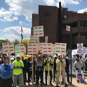 'If These People Don't Pay, I Don't Work': Building Contractors Protest Rent Reform