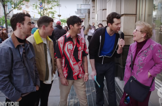 Video: Billy Eichner Screams At Startled New Yorkers With The Jonas Brothers