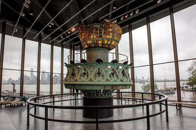 Photos: The Statue Of Liberty Museum Opens On Liberty Island