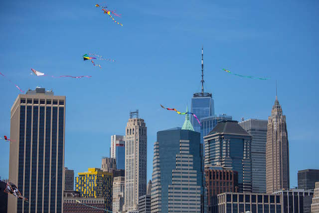 Photos: Perfect Day For Annual Kite Festival At Brooklyn Bridge Park