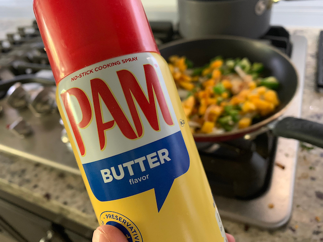 PSA: Keep Your PAM Cooking Spray Far Far Away From The Stove