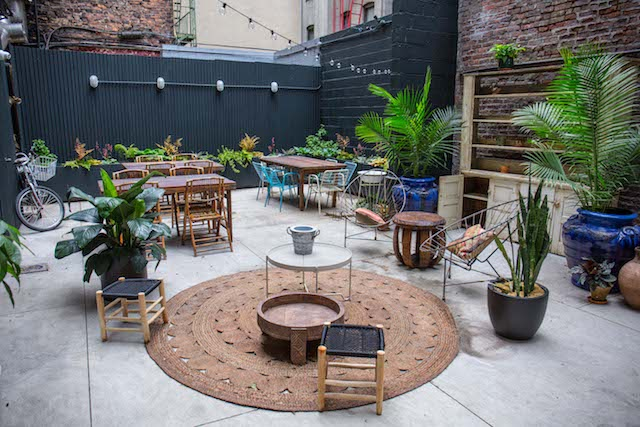NYC's Best New Restaurant Garden Is At Wayla On Forsyth Street