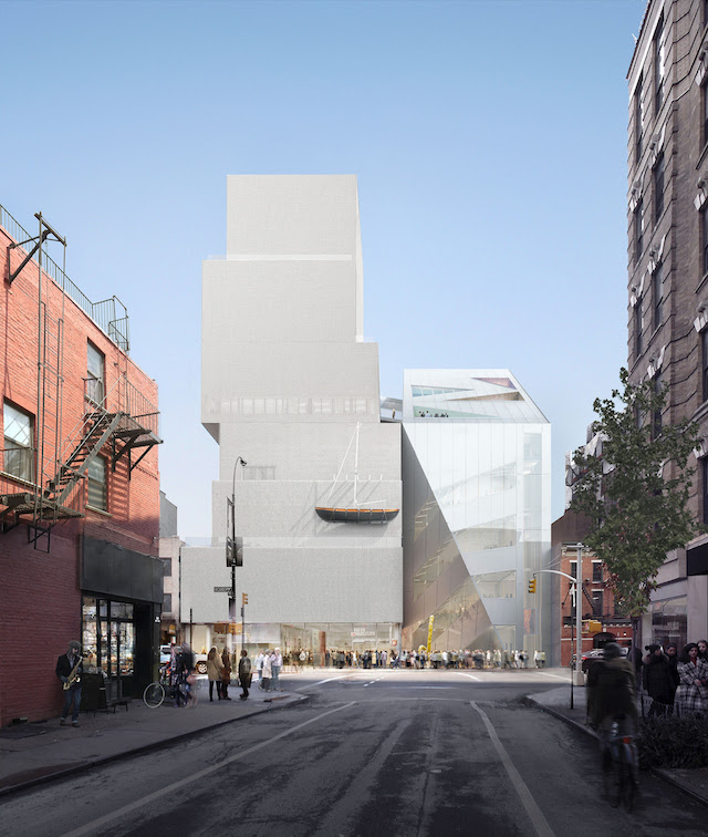 The New Museum Is Expanding With A Second Sleek Building - Gothamist
