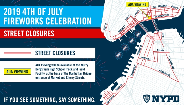 Here Are All The Street Closures For The Macy's July 4th Fireworks In NYC - Gothamist