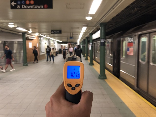 NYC's Hottest Subway Sauna Is [All Of Them]