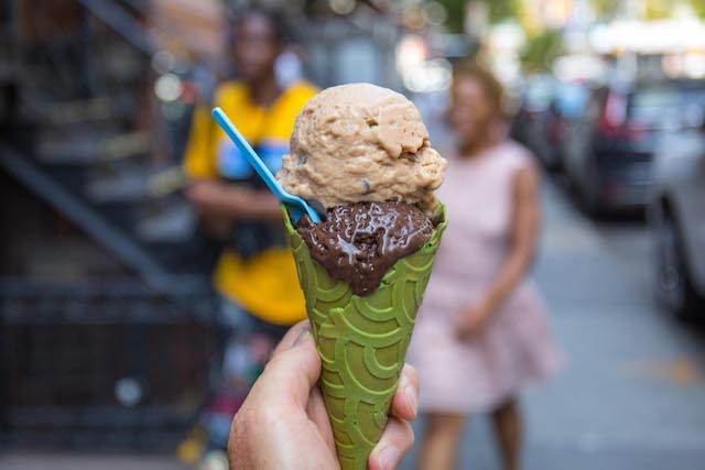 BIVE Scooping Anti-Anxiety Superfood Ice Cream On Orchard Street