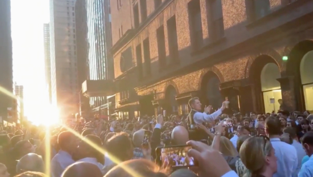 Videos: Choir Creates A Beautiful NY Moment Outside Of Carnegie Hall During The Blackout