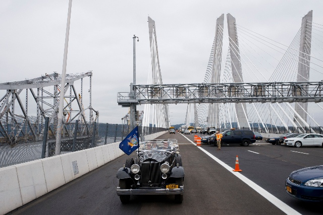 DOT Needs To Replace Dozens Of Signs For Gov. Mario M. Cuomo Bridge Because Of One Missing Letter