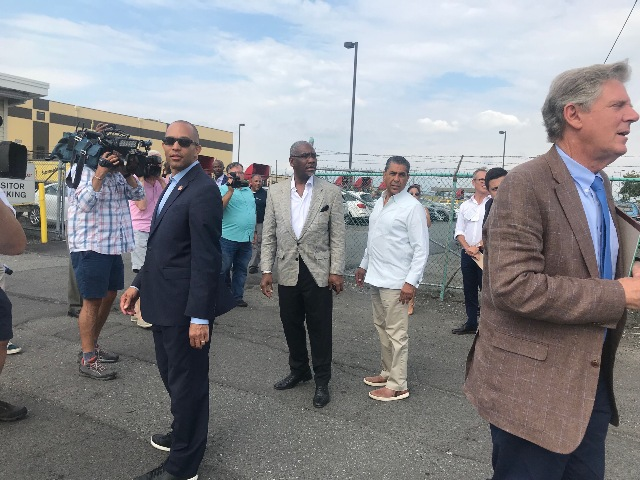 Protesters Confront Congressmen Visiting NJ ICE Facility: 'What Are You Doing To Shut This Place Down?'