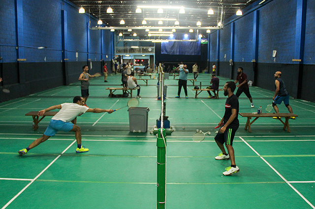 To Relieve Stress, Uber Drivers Turn To All-Night Badminton