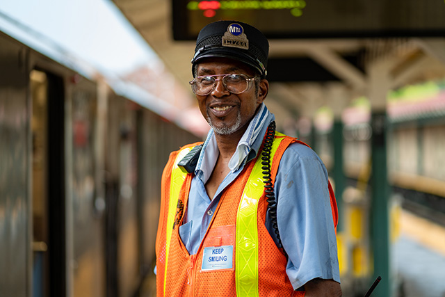 Take A Ride With The Subway's 'Happiest Conductor'