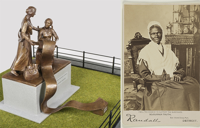 First Statue Featuring Real Women In Central Park Will Be Redesigned To Include Sojourner Truth