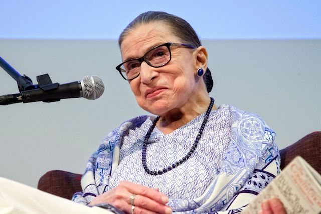 Hold the cake! Fans honor Ginsburg's birthday with exercise | AP entertainment