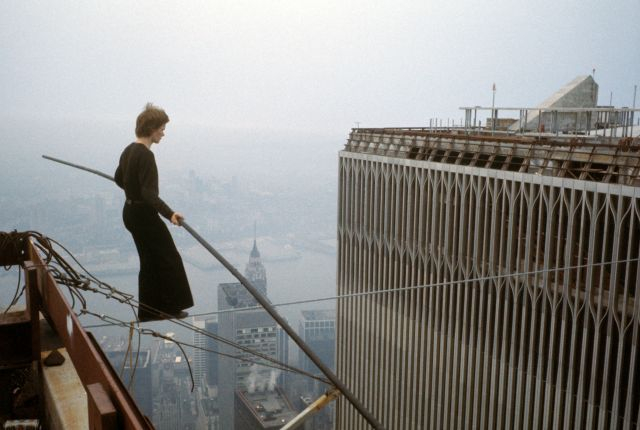 Philippe Petit- Walks the World Trade Center