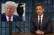 Video: Seth Meyers Takes Closer Look At How Trump's 'Unhinged' Tweets Distract From Real Issues
