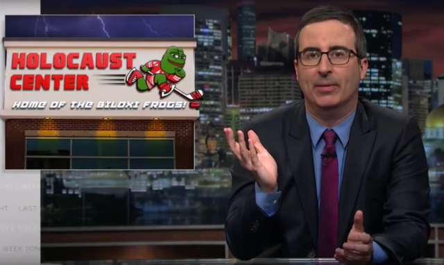 Video: John Oliver Doesn't Think Sean Spicer Is In Control ...