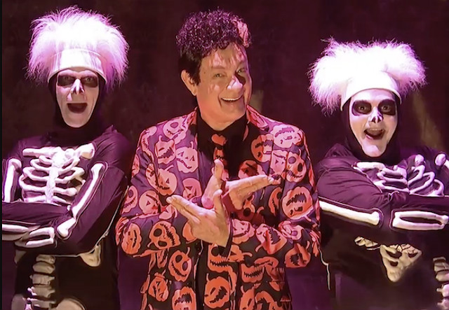 Here's the Story of How David S. Pumpkins Became Your Halloween Hero