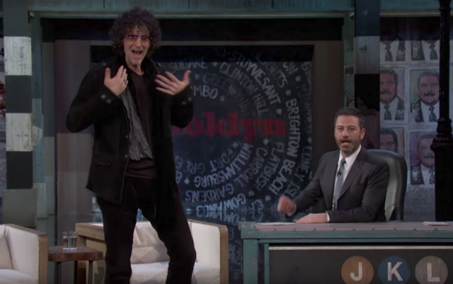Howard Stern explains his problems with Harvey Weinstein on Jimmy Kimmel Live
