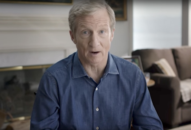Steyer launches multimillion-dollar campaign to impeach Trump