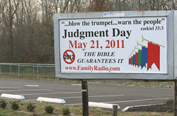 Judgement Day sign in New Jersey