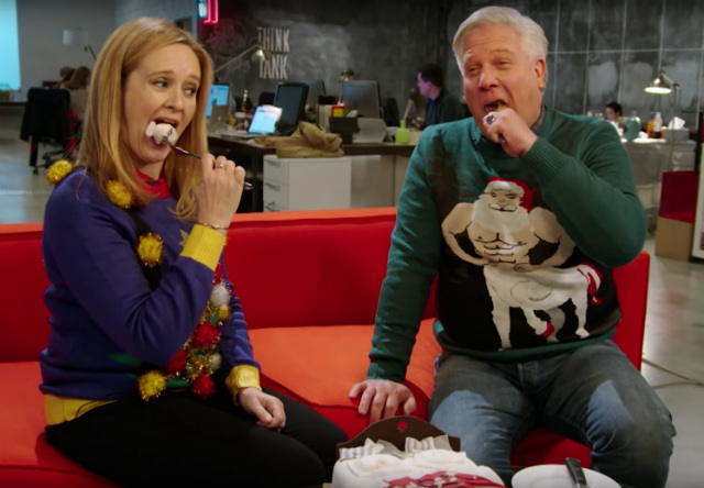 Samantha Bee and Glenn Beck try to heal the world