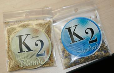 k2 incense bags