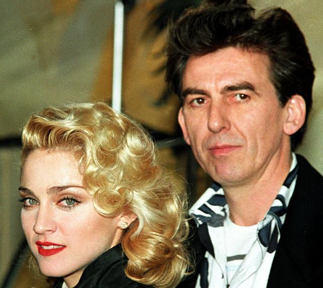 The Beatles Polska: Living in the Material World - czy Madonna była dziewczyną Harrisona?