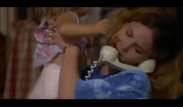 Jennifer Jason Leigh as a phone sex operator in Short Cuts.