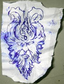 Devil Tattoo Decapitation