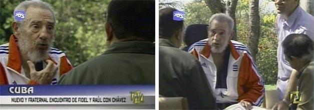 2008 06 fidel Fidel gosta de Adidas e Obama