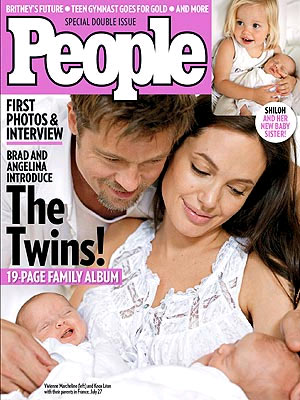 brad pitt and angelina jolie family. Angelina Jolie and Brad