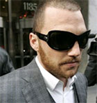 I'm Sean Avery and I stole these glasses from Bono.