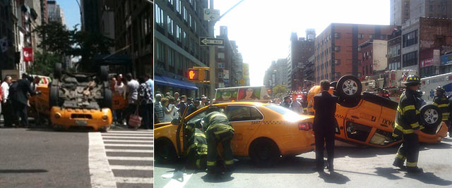 Cash Cab Gameshow Ends in Horrific Car Accident